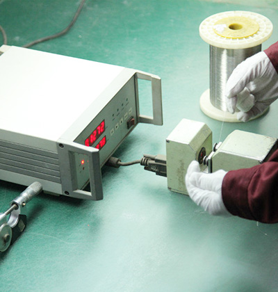 Photodosimeter for Wire Diameter